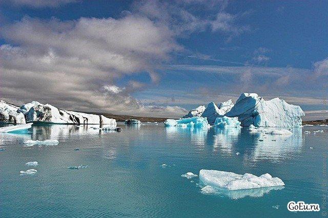 Лагуна Ёкюльсаурлоун - природное чудо света Исландии