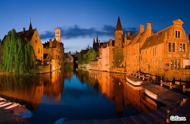 Туристические города Бельгии