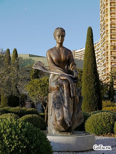 Дорога Скульптур в Монако