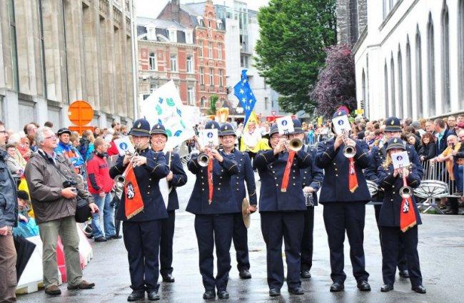 Гентские праздники в Бельгии